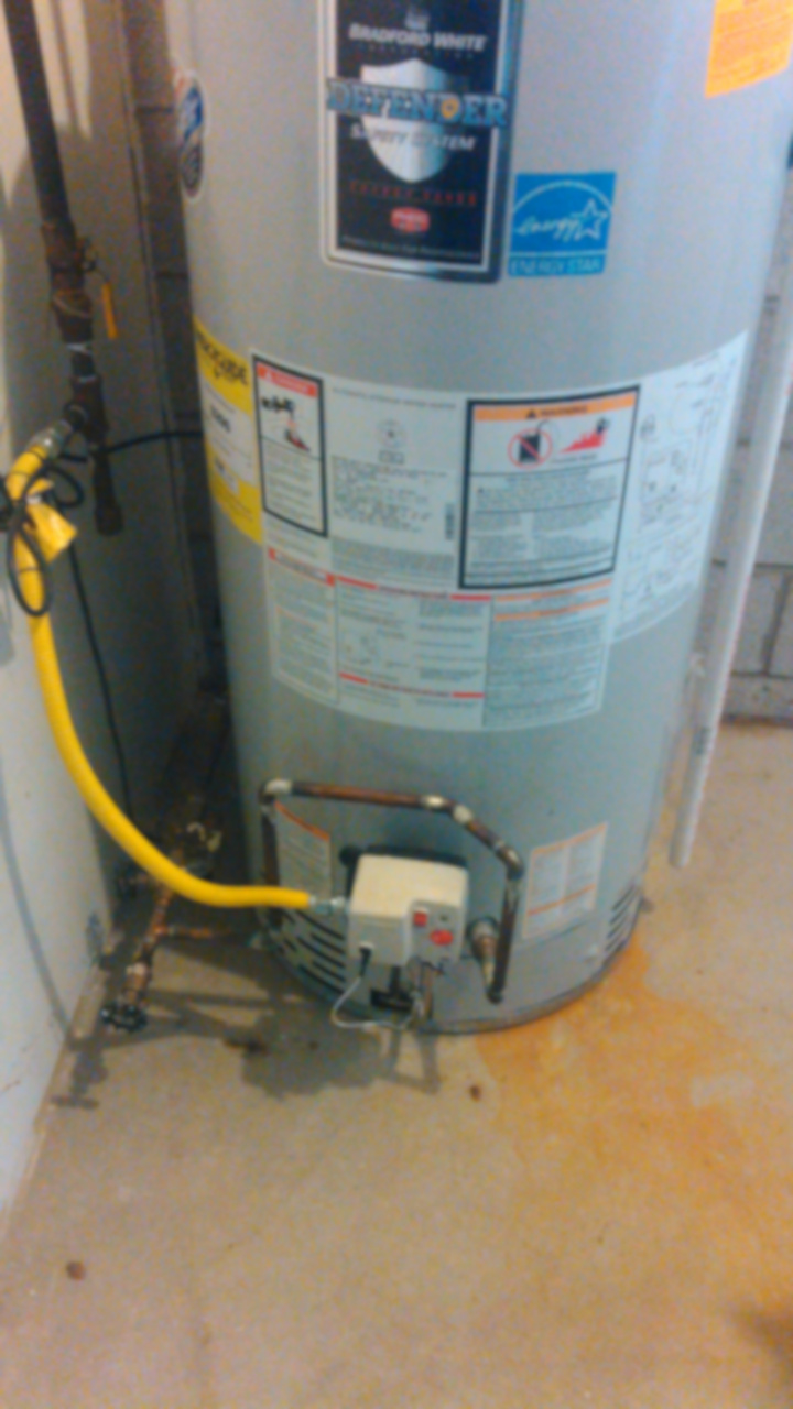 water heater leaking from bottom of tank